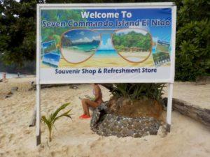 Seven command Island